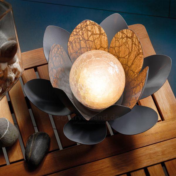 Dekorative Solar Lotusblüte