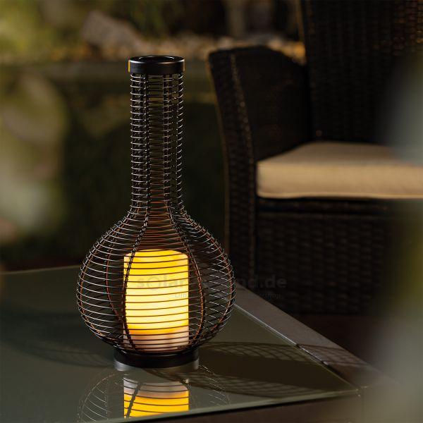 Elegantes Garten-Solarlicht Gina 35 cm