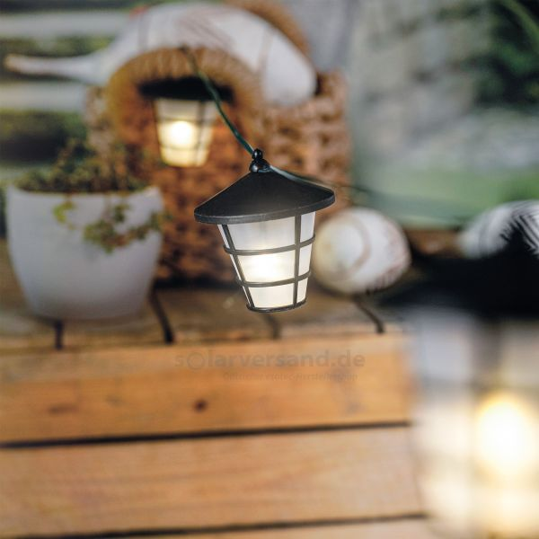 Solar Lichterkette Asia Style