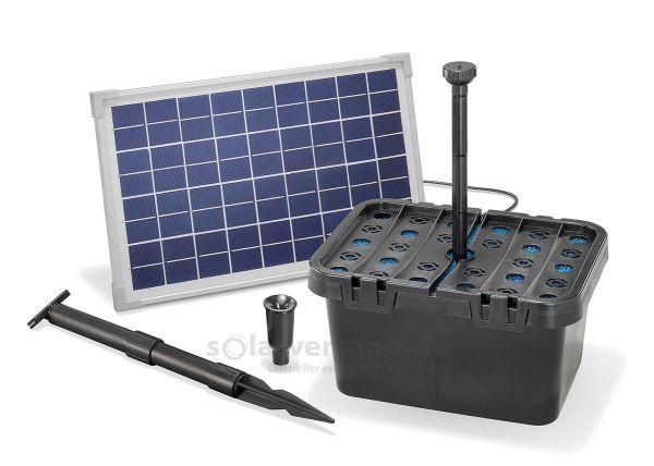 Solar Teichfilter Set Starter 610/10