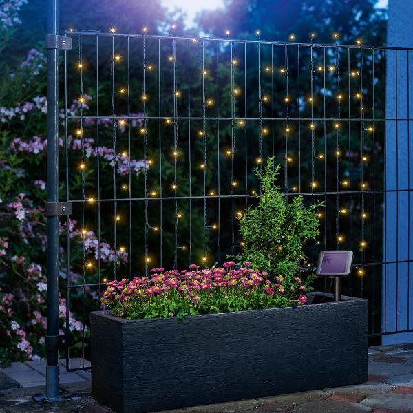 Solar Premium Lichterkette mit 100 LEDs warmweiß