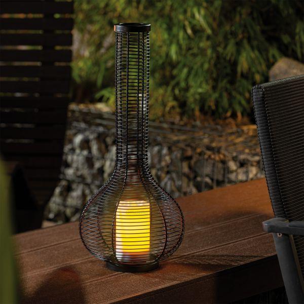 Elegantes Garten-Solarlicht Gina 55 cm