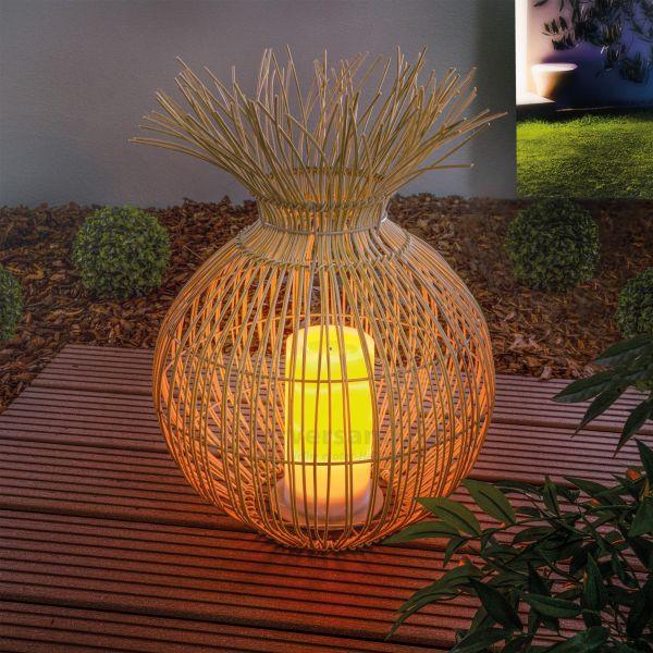 Solar Windlicht Praya 45 x 27 cm